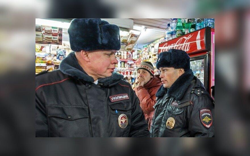 Alkoholio parduotuvė Sibire