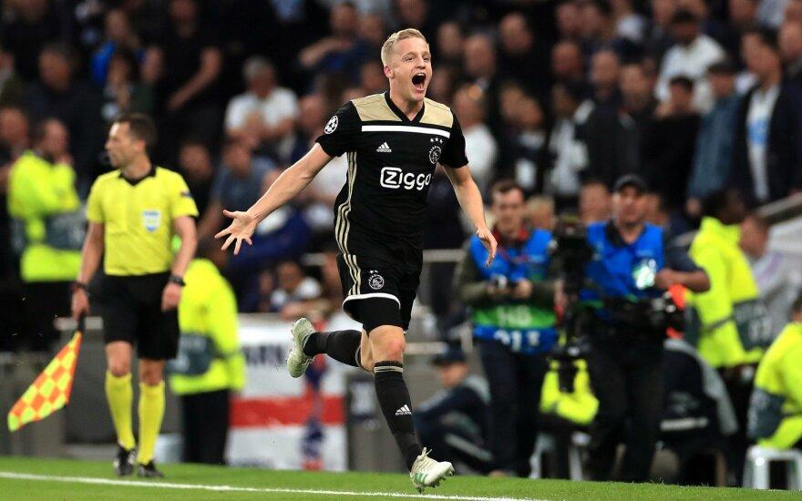 """UEFA Čempionų lygos pusfinalis: """"Tottenham Hotspur"""" - """"Ajax"""""""