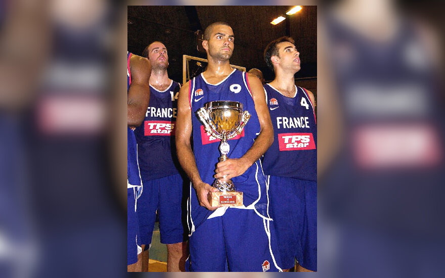 Prancūzijos krepšininkai