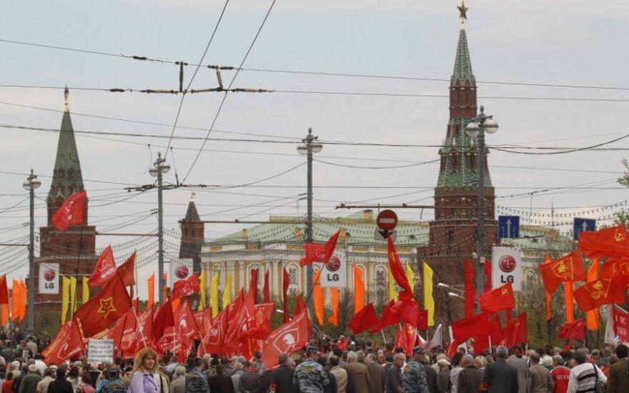 """Į JAV išplatintą """"Magnitskio sąrašą"""" Rusija atsakė tuo pačiu"""