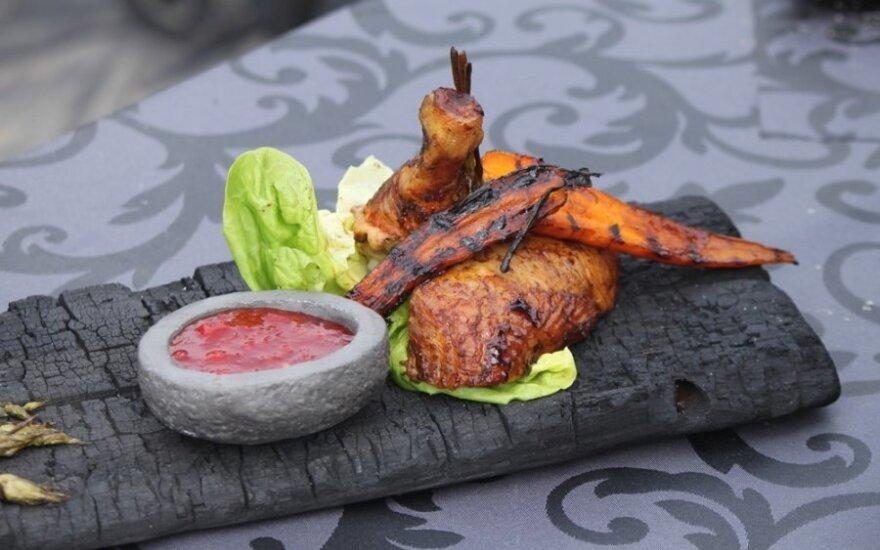 Vištiena ant grilio – greitai paruošiami ir skanūs šedevrai