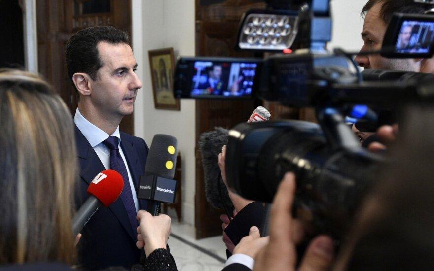 Maskva ir toliau neigia Sirijos režimo atsakomybę dėl cheminės atakos