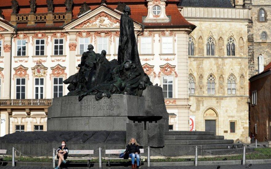 Koronavirusas Prahoje