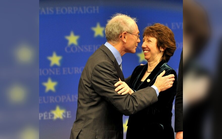 Hermanas Van Rompuy ir Catherine Ashton