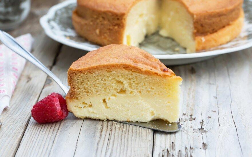 Trijų sluoksnių pyragas