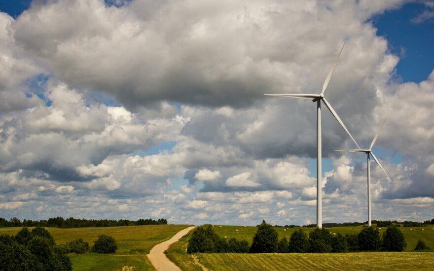 Vėjo elektrinės šiemet didino gamybą dešimtadaliu