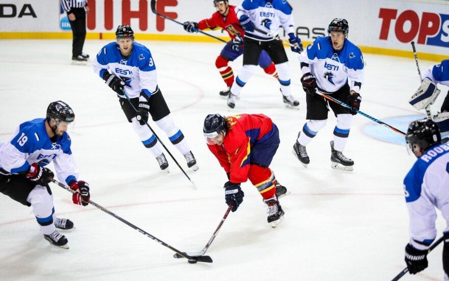 Estijos ledo ritulininkai įveikė rumunus