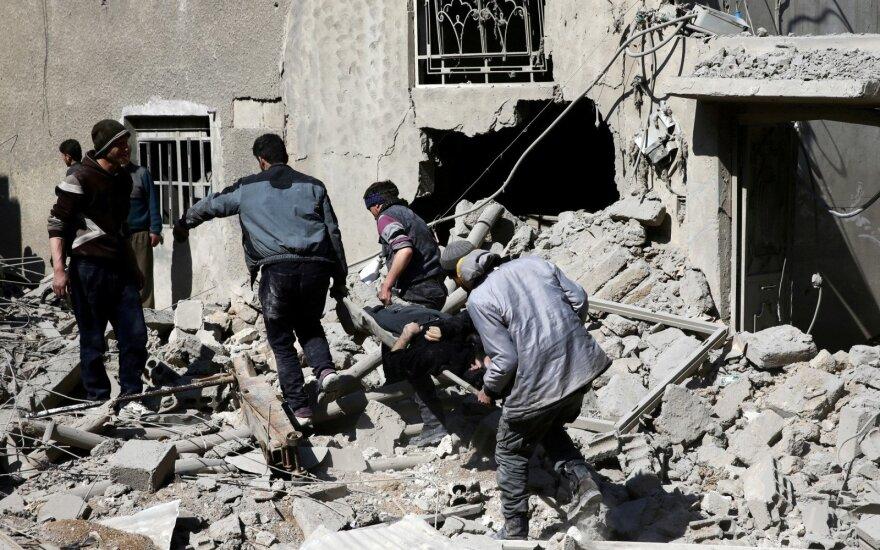 """Rusija: du trečdaliai Rytų Gutos """"išvaduota nuo teroristų"""""""