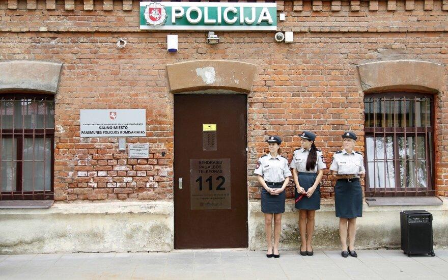 Kaune pristatytas atnaujintas Panemunės policijos komisariatas