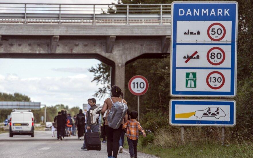 Danija griežtina prieglobsčio įstatymą