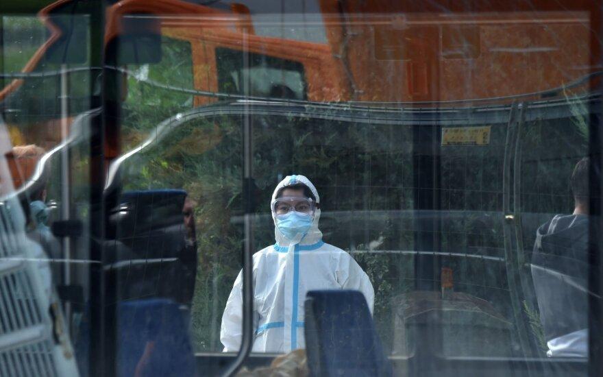 Vokietijoje – 1 445 nauji koronaviruso infekcijos atvejai