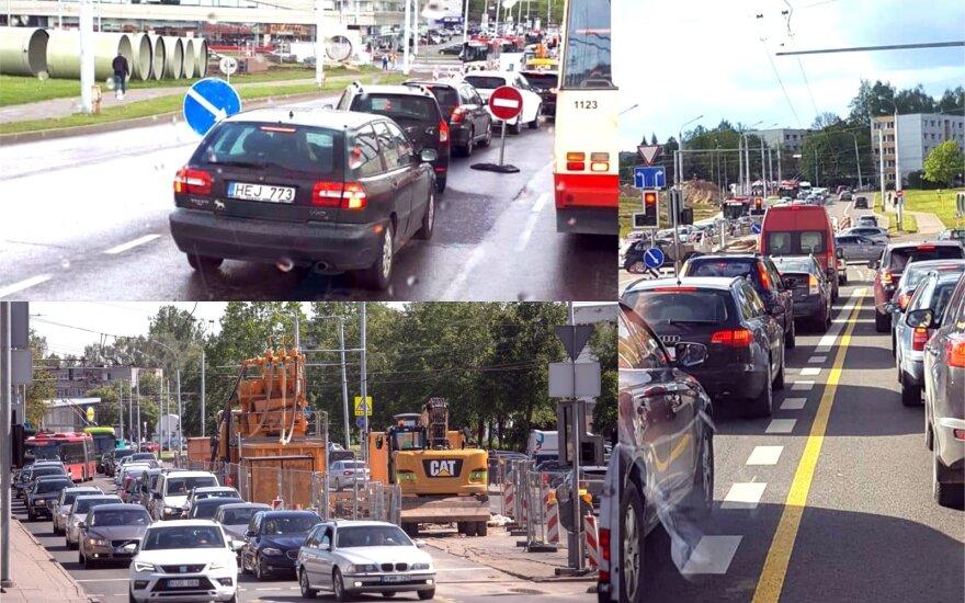 Vairuotojams į taisykles nusispjauti: per dvi valandas dešimtys nubaustų, o vis tiek važiuoja