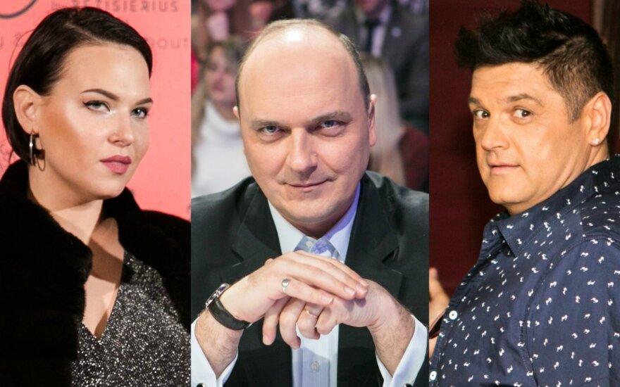 Justė Arlauskaitė-Jazzu, Giedrius Drukteinis, Vitalijus Cololo