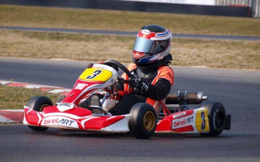 Kartingų varžybos Trofeo di Primavera Italijoje