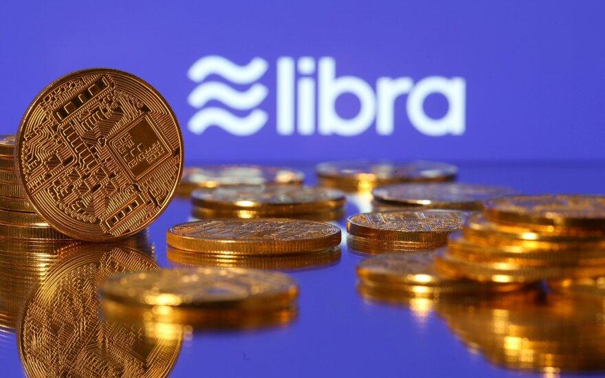 """Prancūzija, Italija ir Vokietija ruošiasi uždrausti """"Facebook"""" """"Libra"""" kriptovaliutą"""