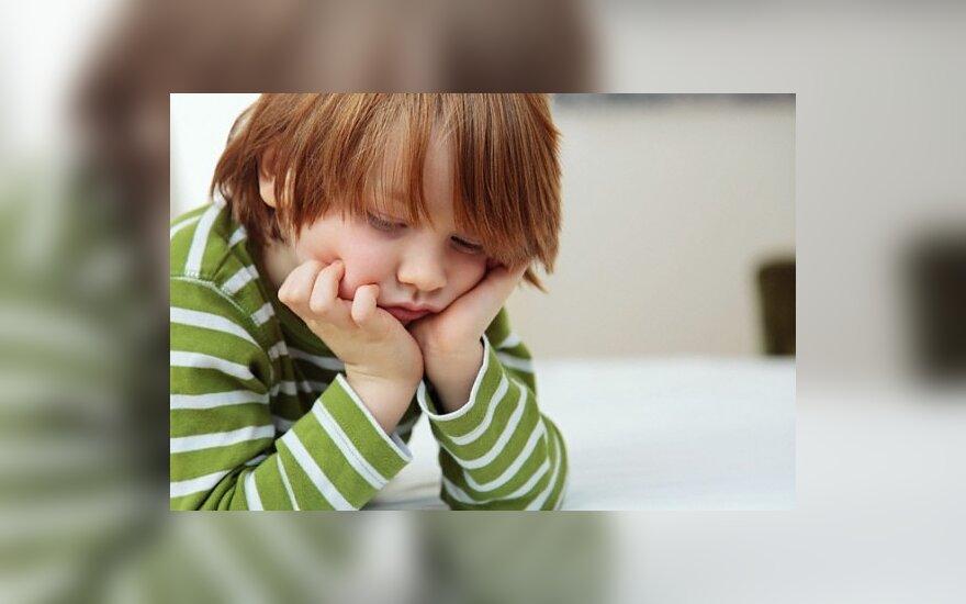 Liūdnas berniukas