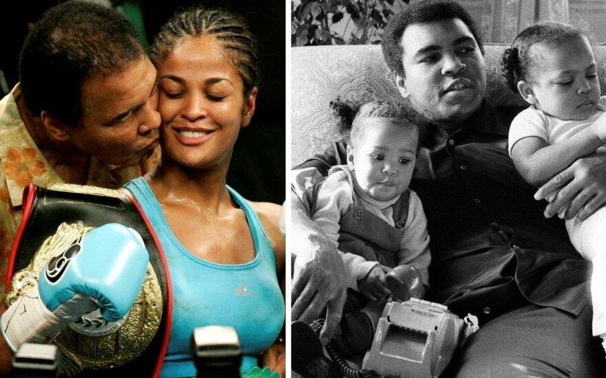Čempiono istorija: kaip M. Ali išmušė dantis mamai, stebėjo dukros triumfą ir prašė prisiminti jį