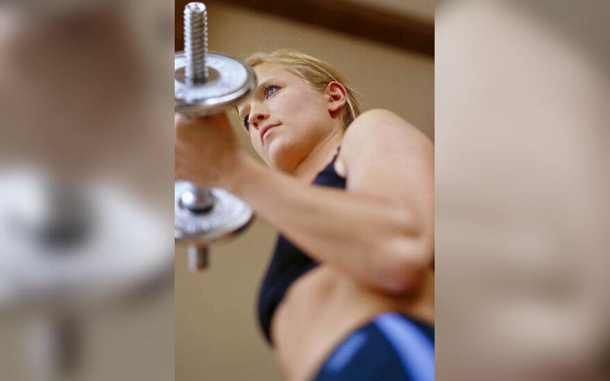 svoriai, svarmenys, treniruokliai, sportas, geležis