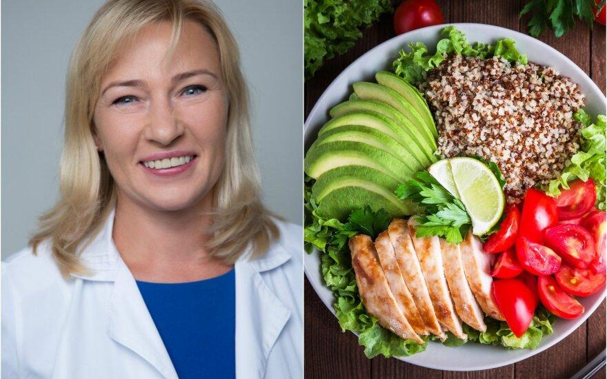 Dietologė Edita Gavelienė