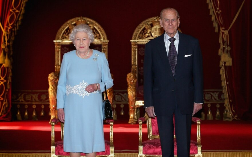 Karalienė Elžbieta II ir princas Phillipas