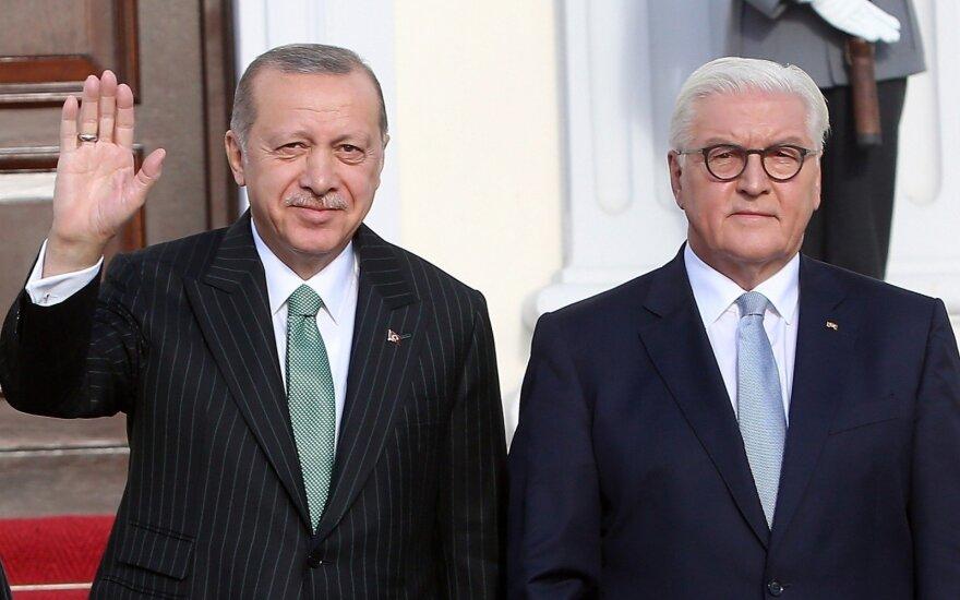 Recepas Tayyipas Erdoganas ir Frankas-Walteris Steinmeieris