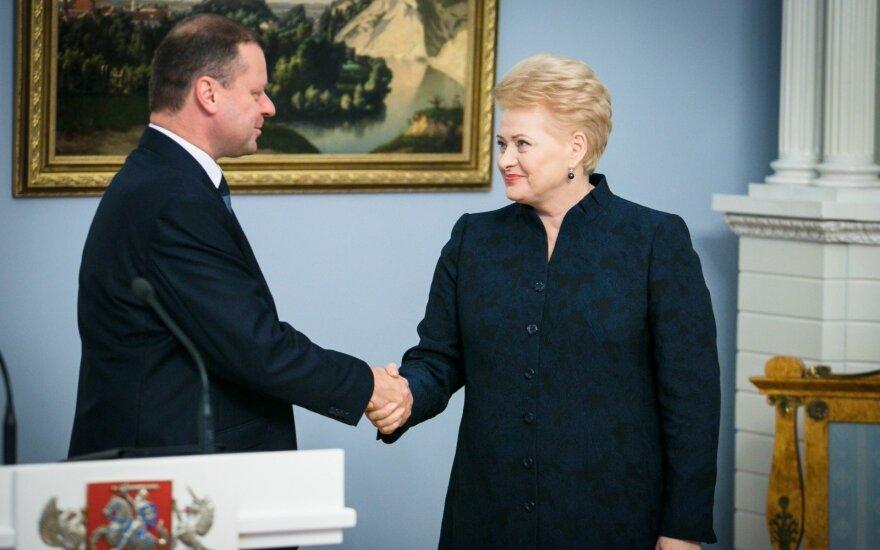 D. Grybauskaitė apsisprendė dėl S. Skvernelio