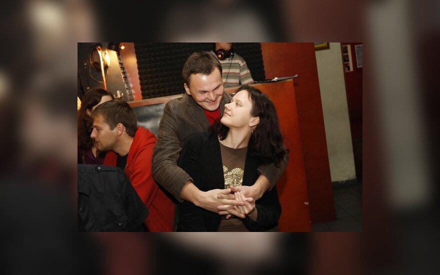 Giedrius Leškevičius su žmona
