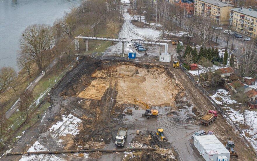 Balandį statybos darbų atlikta 3,4 proc. mažiau