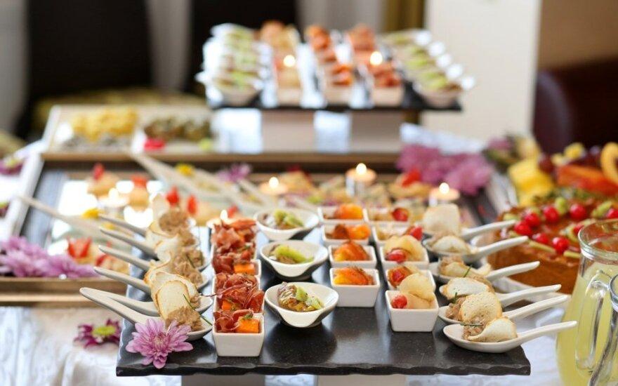 Ką daryti, kad vestuvių maistą svečiai dar ilgai girtų