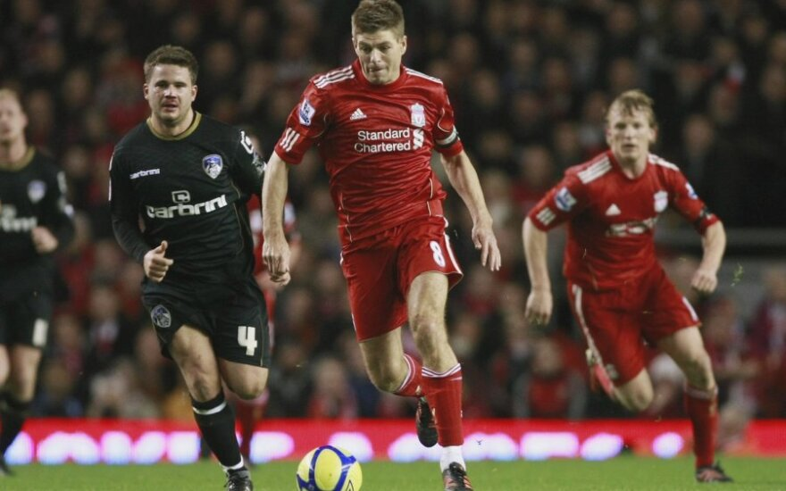 Stevenas Gerrardas