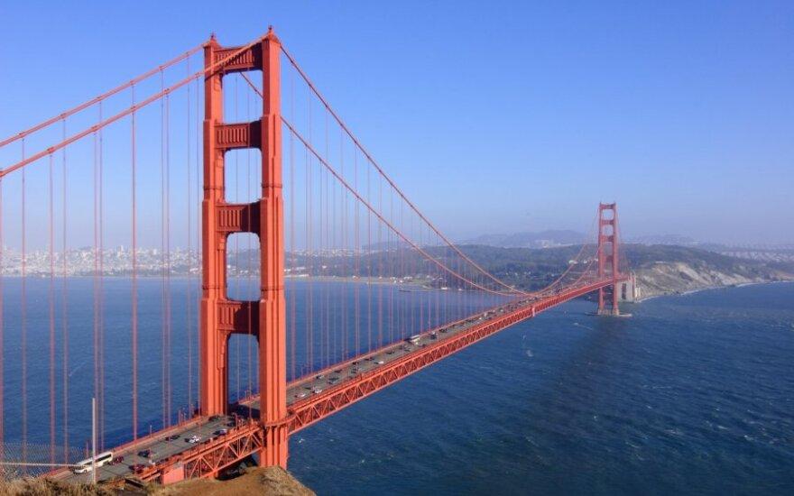 Milijardierius siūlo padalyti Kaliforniją