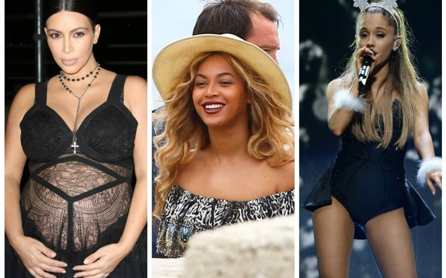 Kim Kardashian, Beyonce, Ariana Grande