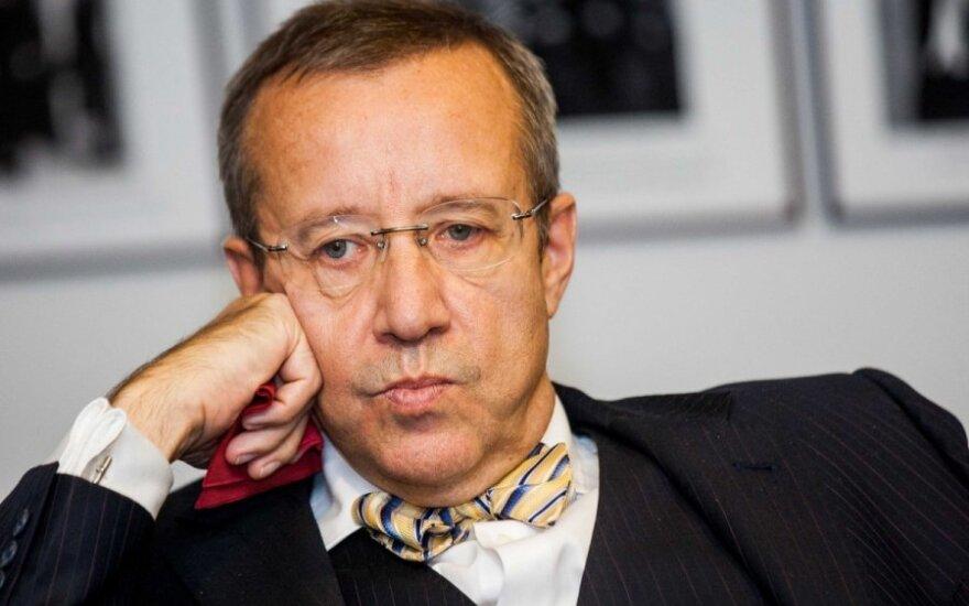 Buvusiam Estijos prezidentui uždrausta atvykti į Rusiją