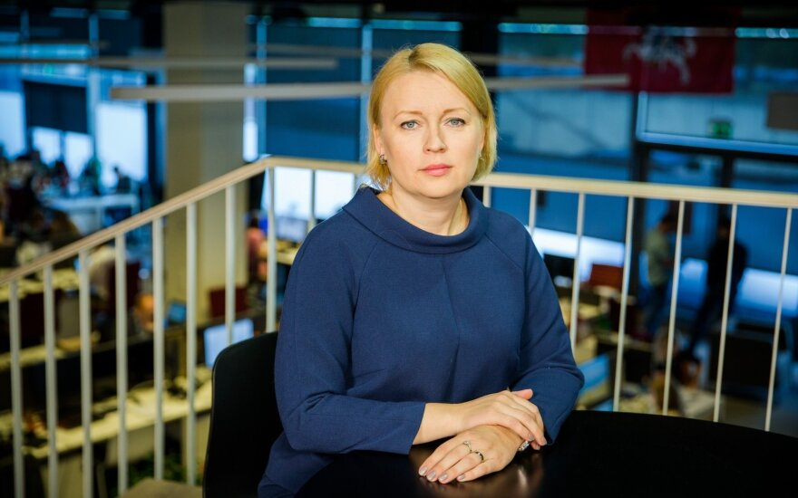 Lithuanian ambassador to the EU Jovita Neliupšienė