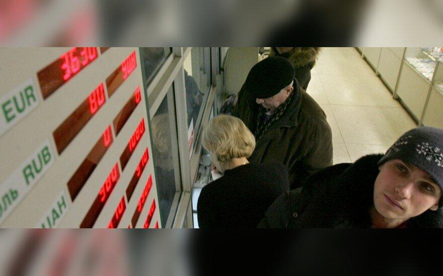 Baltarusijos nacionalinis bankas atlaisvino rublio kursą