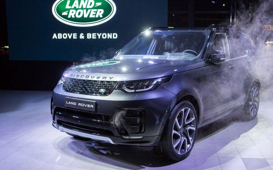 """Naujojo """"Land Rover Discovery"""" pristatymas"""