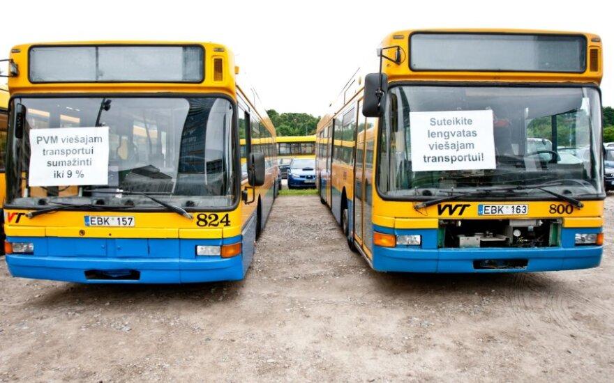 D.Grybauskaitė nepalaiko PVM lengvatos transportui