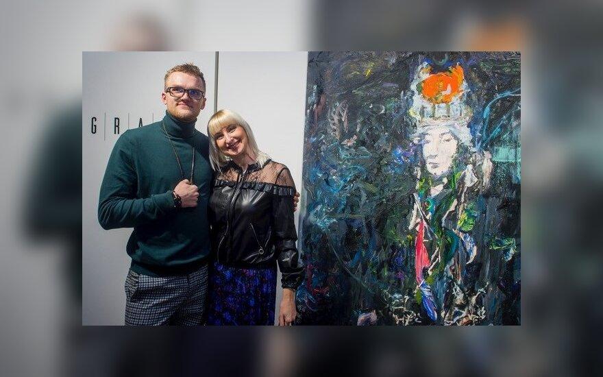 Tadas Tručilauskas atidarė pirmąją tapybos parodą