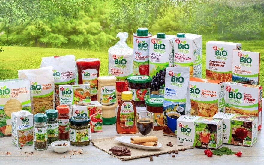 Naujas privatus prekių ženklas IKI parduotuvių lentynose - Bio Village