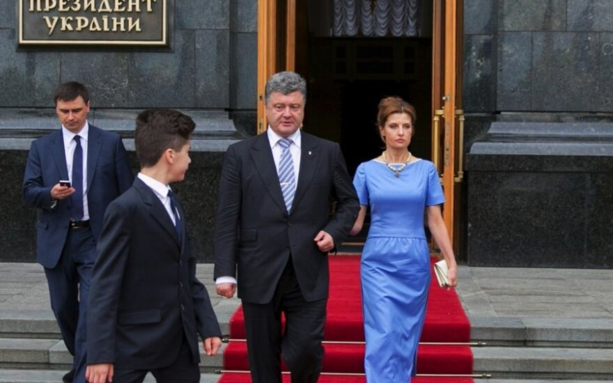 Kijeve netoli prezidentūros rasta bomba