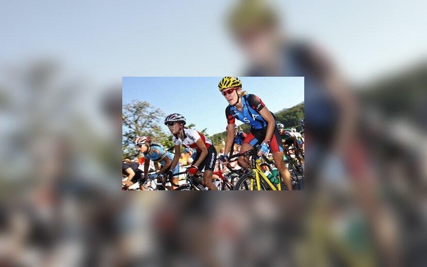 A.Sošenko dviratininkių lenktynėse Čekijoje užėmė 23-iąją vietą