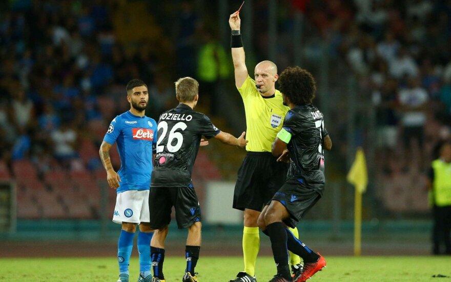 """UEFA Čempionų lygos atranka: """"Napoli"""" – """"Nice"""""""