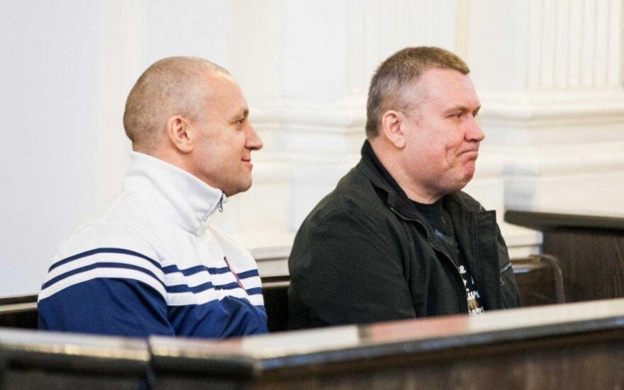 Svajūnas Čebatorius ir Vilius Karalius (dešinėje)