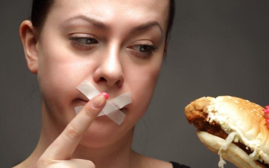 Kaip valgyti daug ir išlikti liekniems