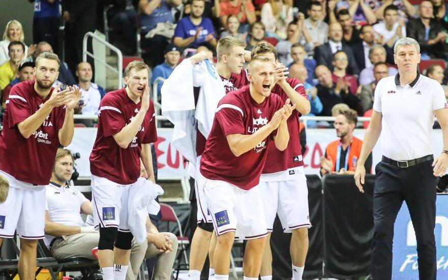 Latvijos krepšininkai