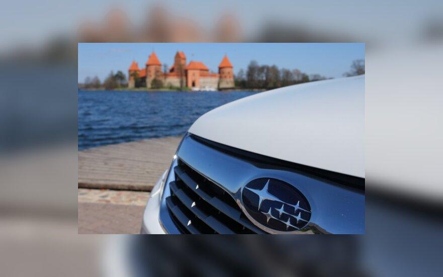 """Skandinavai labiausiai patenkinti """"Subaru"""" automobiliais"""