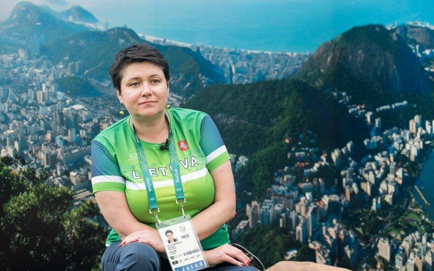 Daina Gudzineviciute Rio žaidynėse