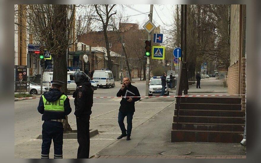 Rusijoje per sprogimą Rostove prie Dono nukentėjo vienas žmogus