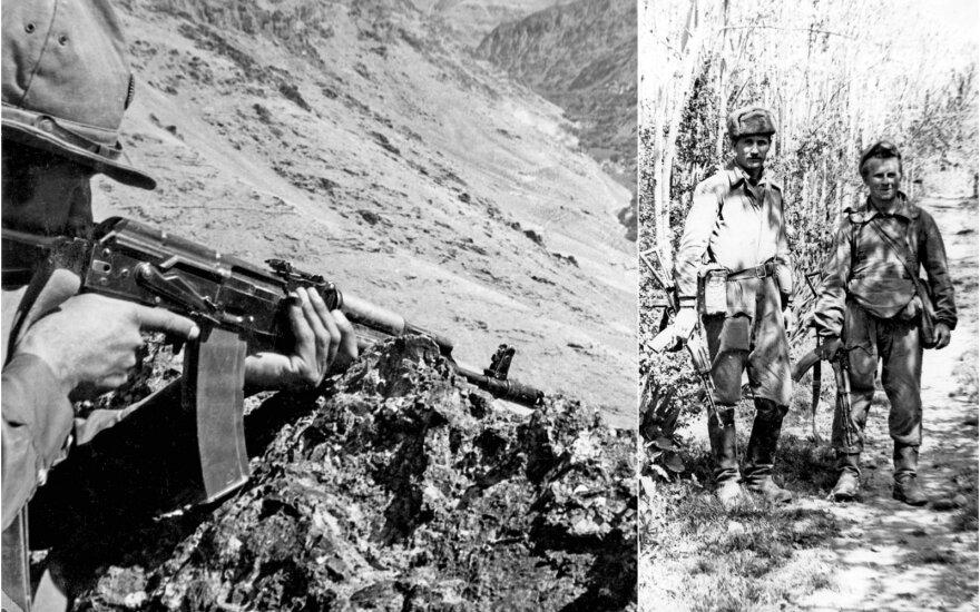 Tarnyba Afganistane / Zigmas Stankus (dešinėje)