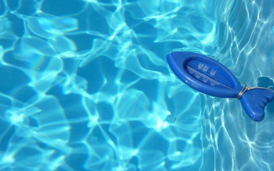 Vandens termometras